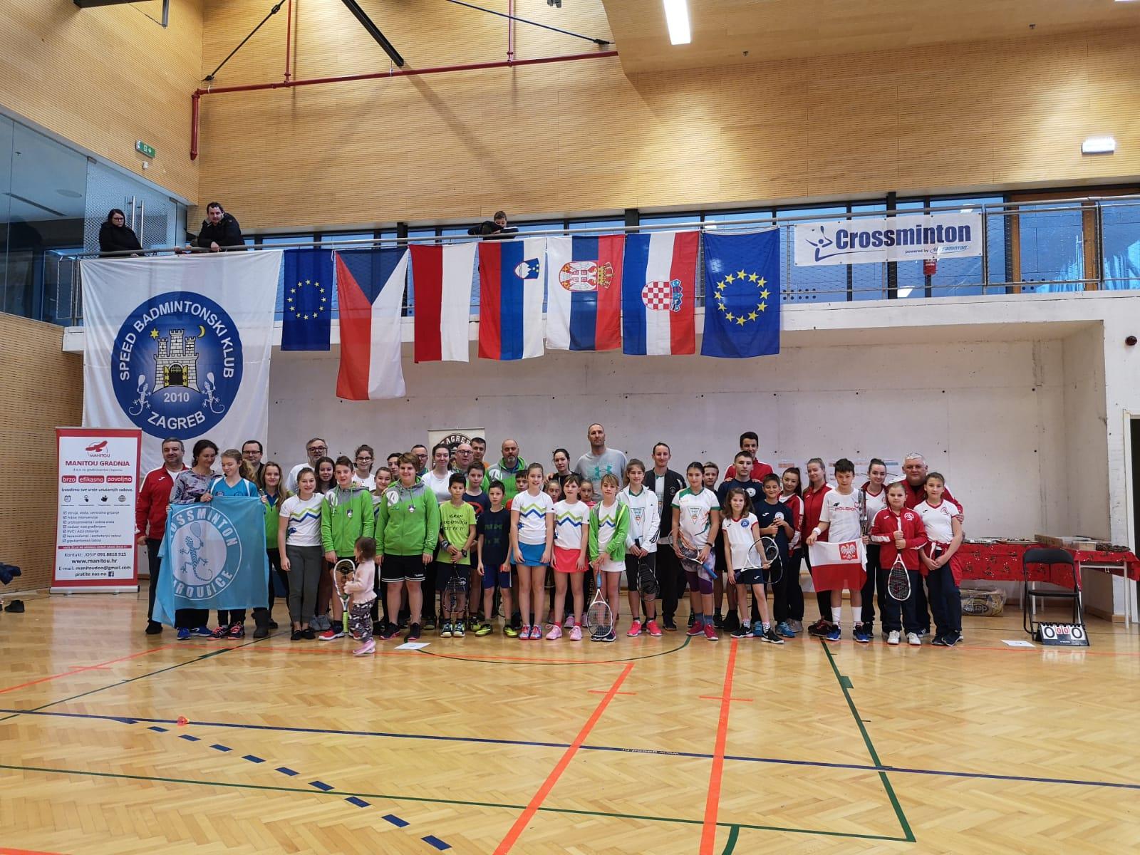 7. ICO Crossminton Croatian Junior Open powered by Speedminton®