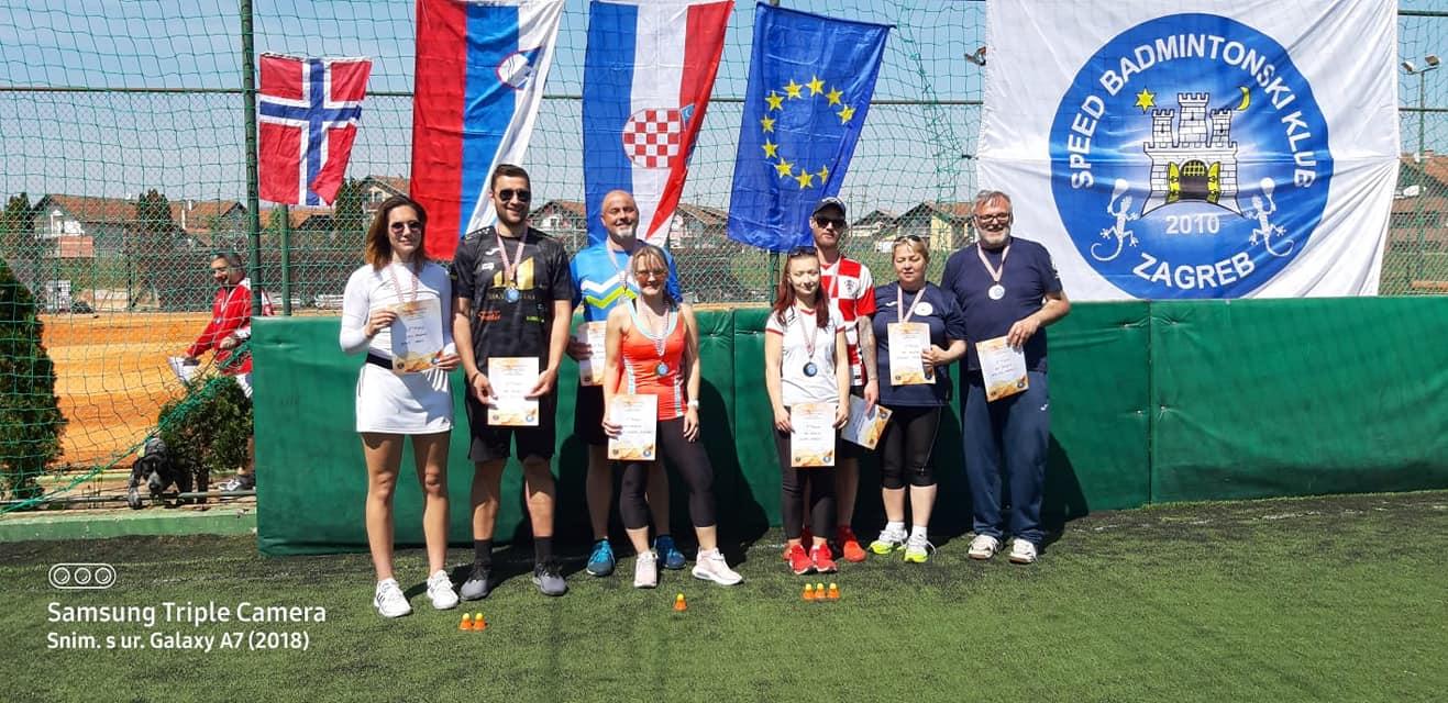 Mixed Doubles  1. Jasmina Keber/Matjaž Šušteršič (SLO)  2. Gala Zukić/Damir Baković 3. Laura Jagečić/Erik Brandt (CC Zagreb)  3. Gordana Ivković/Nebojša Aleksić (CC Zagreb)