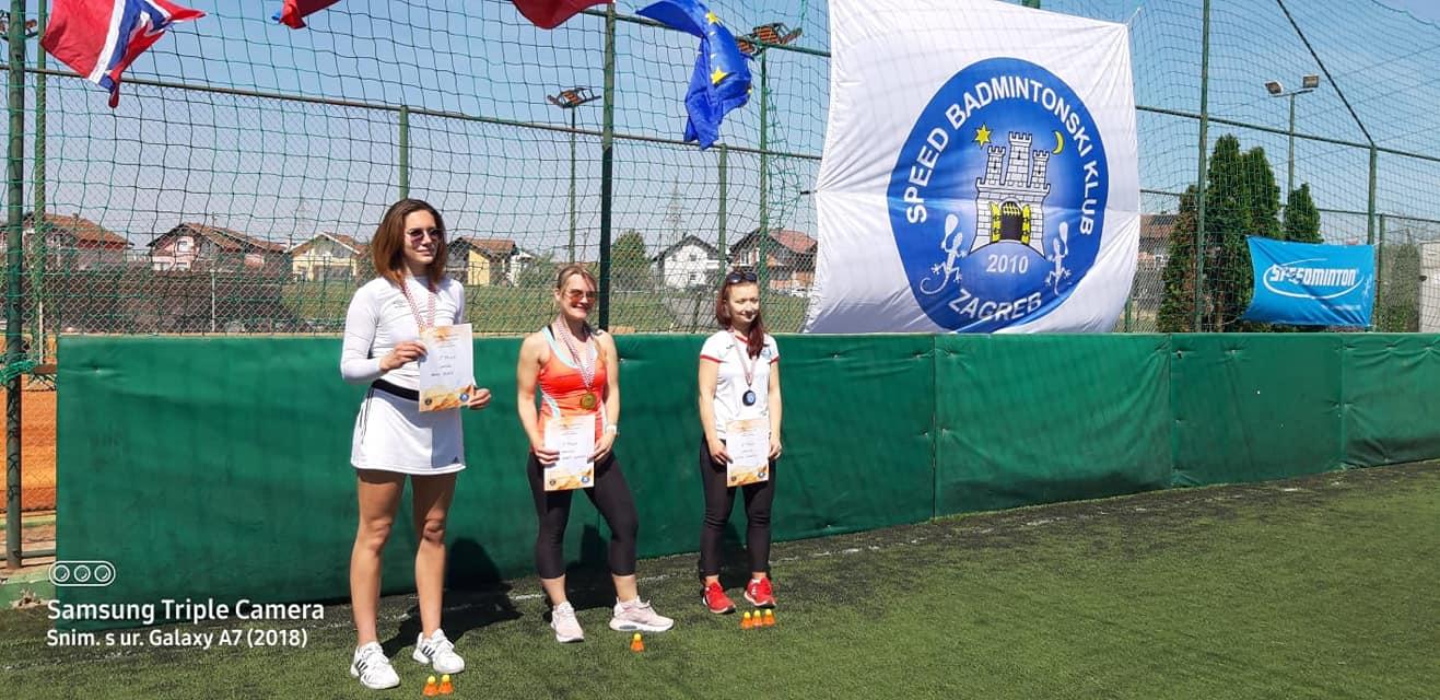 Open Female  1. Jasmina Keber (SLO)  2. Gala Zukić  3. Laura Jagečić (CC Zagreb)