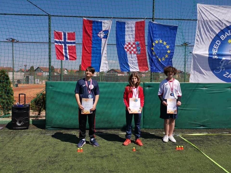 U12 Mix  1. Nika Gorički (CC Zagreb) 2. Leon Sadiković (CC Zagreb) 3. Gracia Benčić
